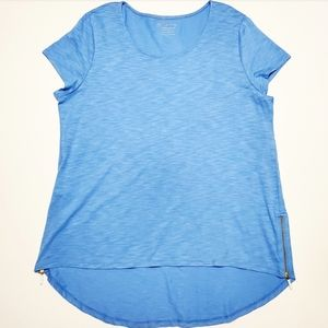 Chico's Size 2 Comfy Short Sleeve Top
